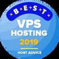 Dado a empresas no top 10 para a melhor categoria de hospedagem VPS.