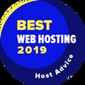 Dado a empresas no top 10 para a melhor categoria de hospedagem Web.